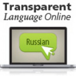Transparent Language Online Russian Course.  A great addition to any Russian audio course.