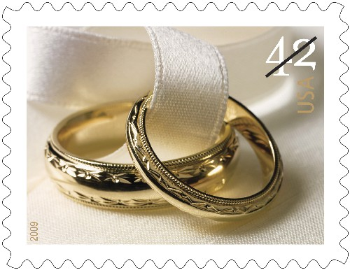 2009 Wedding Rings Commemorative