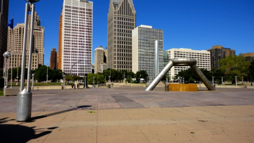 People often overlook vibrant Downtown Detroit for the media's hype of the rough or dying neighborhoods.