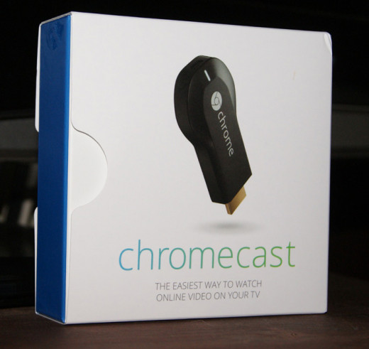 Google Chromecast box