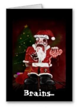 Season's Greetings from Zombie Santa