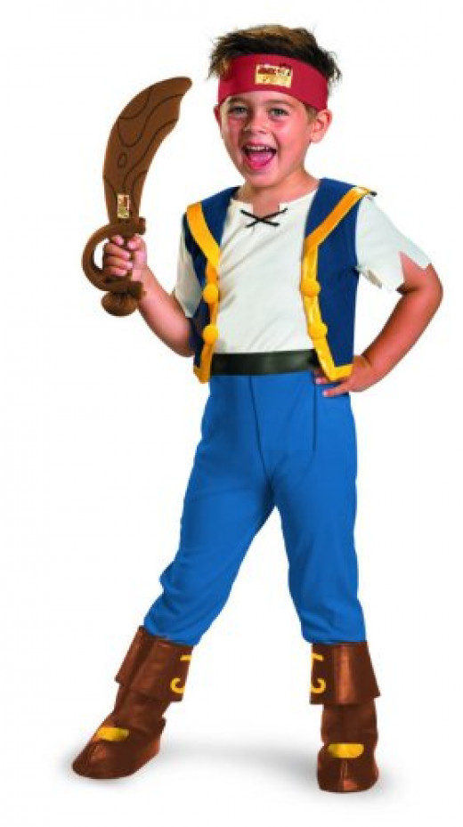 Jake from the Neverland Pirates Costume for Toddlers