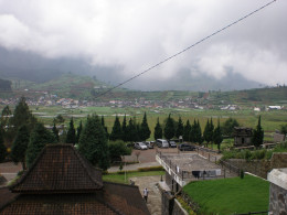 A view at Dieng.