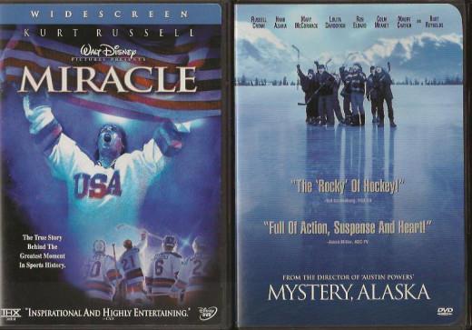 Ice Hockey Movies - Miracle and Mystery Alaska