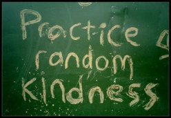 Kindness is awesome