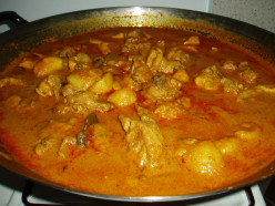 Curry Chicken is pretty pungent, but delicious