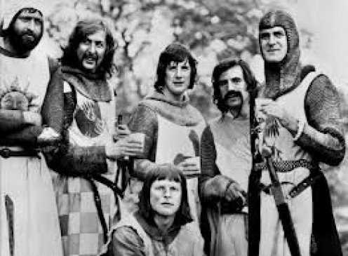 Monty Python was pretty absurd...in a good way
