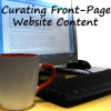 How to Curate Front-Page Content for Your Website