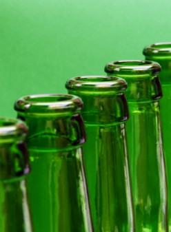 """Light sensitive hops will make a beer become """"skunked"""". Beers in cans hold up best, while green beer bottles are the worst for protecting beer from """"the skunk"""""""