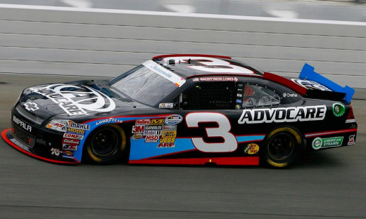 Austin Dillion returned the #3 to active competition in NASCAR- first at the truck, then later the Nationwide level