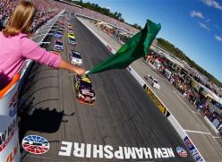 Fantasy win odds for the Sylvania 300 in New Hampshire