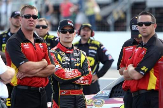 Gordon's team is NASCAR's best at the track