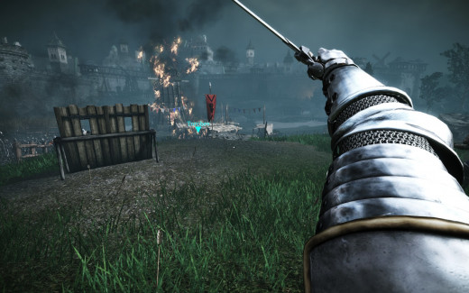 Chivalry: Medieval Warfare features first-person swordfighting
