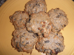 Amazing Sugar Free Oatmeal Raisin Cookies