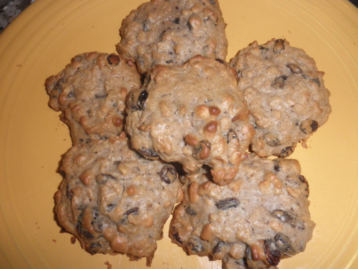 Sugar Free Oatmeal Cookies