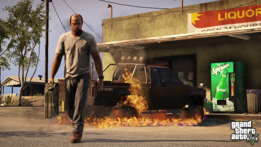 Trevor is a kind of guy who best reflects the insanity and madness of GTA 5 - brutal, merciless and total nuts!