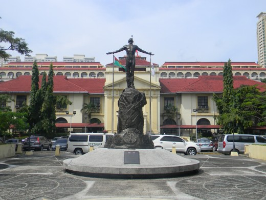 A picture of the front of the Philippine General Hospital, one of the few public hospitals in the country handled by the University of the Philippines in Manila