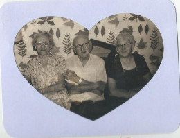 Two sisters and a brother; my  mother's Aunt Eva, Uncle Chris and my Grandmother.