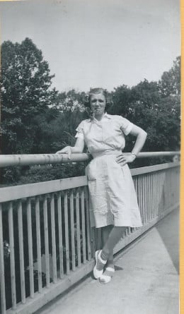 My mother loved a good time and loved to laugh.
