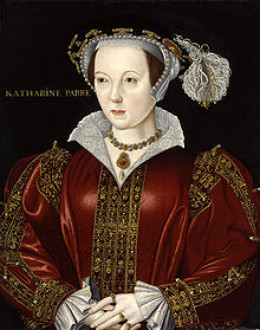 Catherine Willoughby and Katherine Parr were extremely close friends