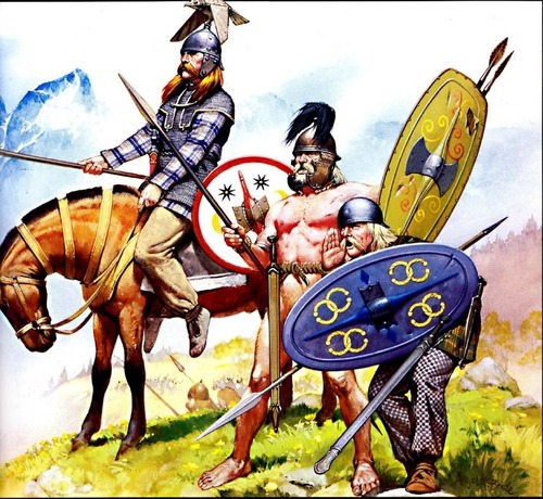 Celtic Iberian warriors