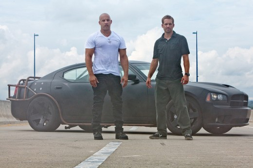 Vin Diesel and Paul Walker from Fast and Furious 5