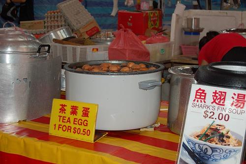 Tea Eggs in Singapore