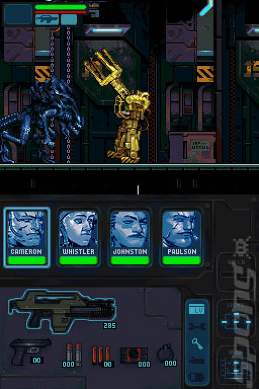 I'd like to introduce you to a personal friend of mine in Aliens: Infestation