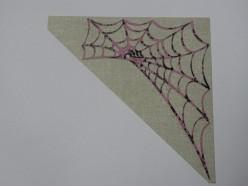 web on background