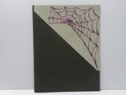 Web and background on card