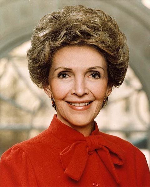 """Nancy Reagan Promoted the """"Just Say 'No'"""" Campaign"""