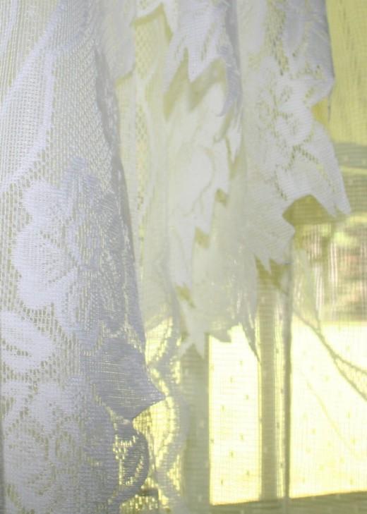 Clean vintage lace.
