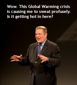 Al Gore's Global Warming Hysteria Debunked by NASA Climate Data