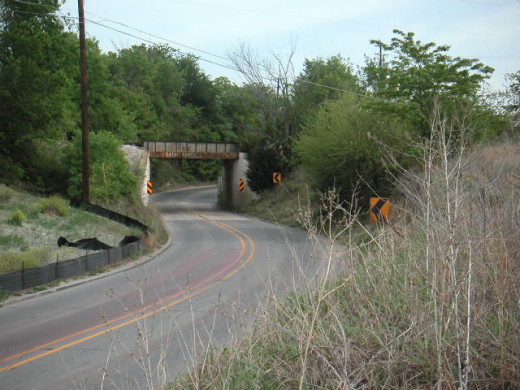 Highway 5 on the backroads of Texas