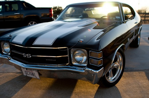 1971 Chevy Chevelle, same type used in Faster with The Rock