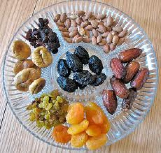 Nuts, an excellent food to treat Anaemia