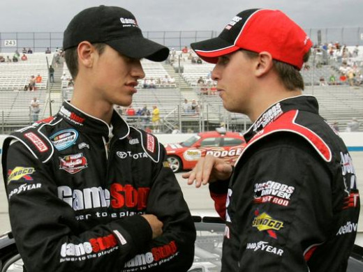 Once teammates, the rift between Denny Hamlin and Joey Logano became public once Logano left for Penske Racing