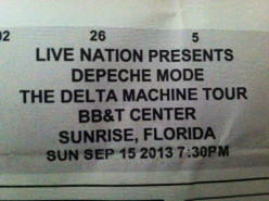 Depeche Mode - Live at the BB&T Center in Sunrise, Florida (Concert Review)