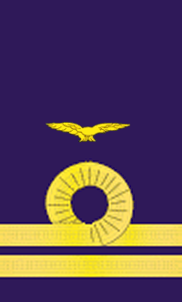 Flight Lieutenant Rank Insignia in the Royal Naval Air Service.