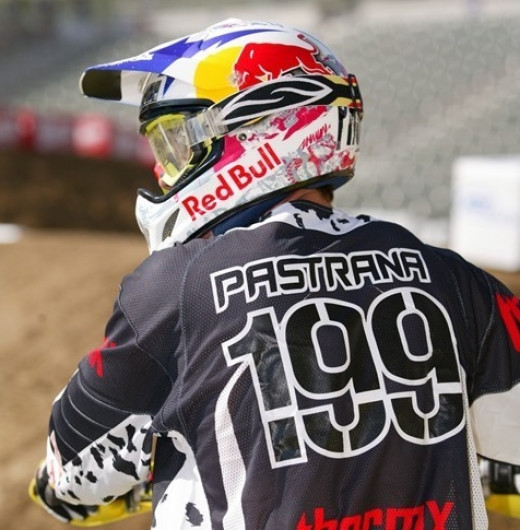 Pastrana first came to fame as a Moto-X rider