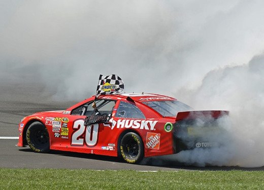 Yet another Matt Kenseth burnout in 2013