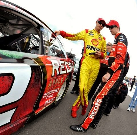 Teaming with Keselowski has launched Logano's career