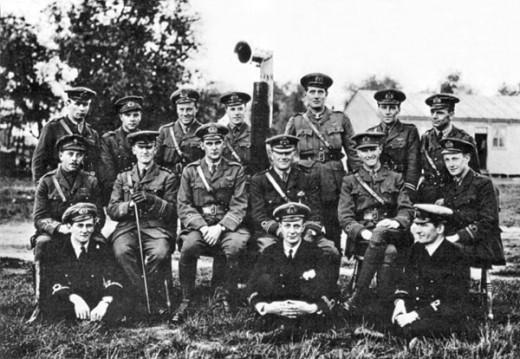 Royal Naval Air Service (No: 1 Squadron) 1914