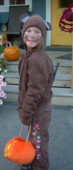 Halloween Chipmunk Costume
