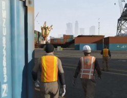 Grand Theft Auto V Walkthrough: Scouting the Port