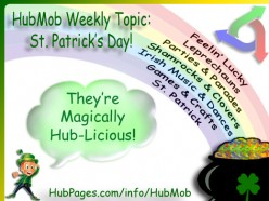 St. Patrick's Day HubMob - Better Than Green Beer!