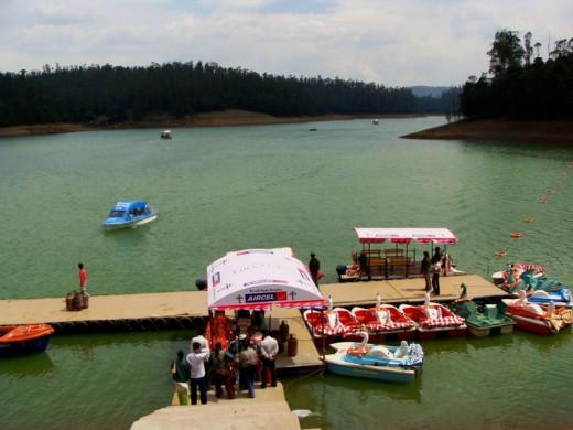 Boating at Pykara Lake