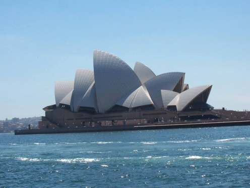 Sydney Opera House, a masterpiece of 20th century architecture.