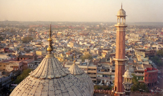 The Jama Masjid (In Old Delhi)