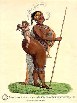 Saartjie (Sarah) Baartman @ Wikimedia Commons.